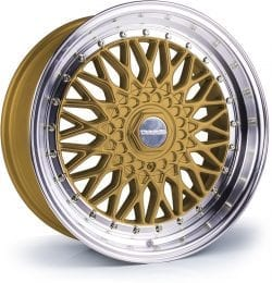 Dare - DR RS (Gold Polished / Chrome Rivets)