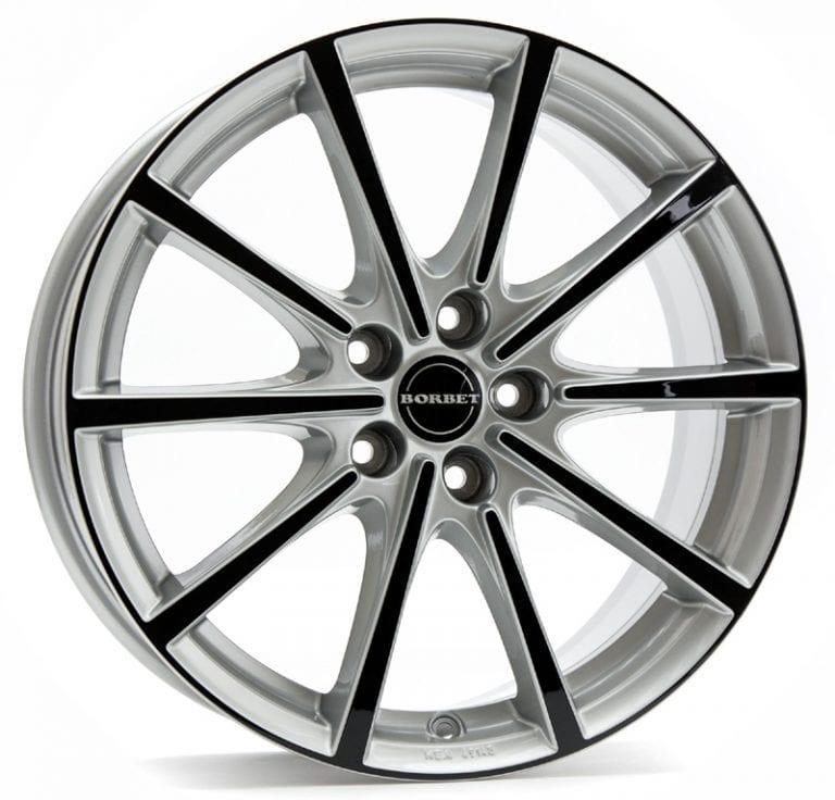 Borbet - BL5 (Silver Black Glossy)