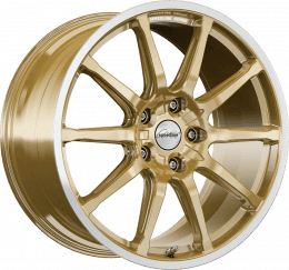 Ronal - SC1 (Racing Gold Rim Cut)