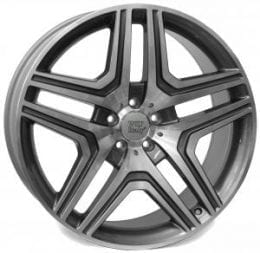 WSP Italy - W766 - AMG NERO (ANTHRACITE POLISHED)
